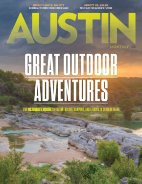 Austin Monthly April 2020