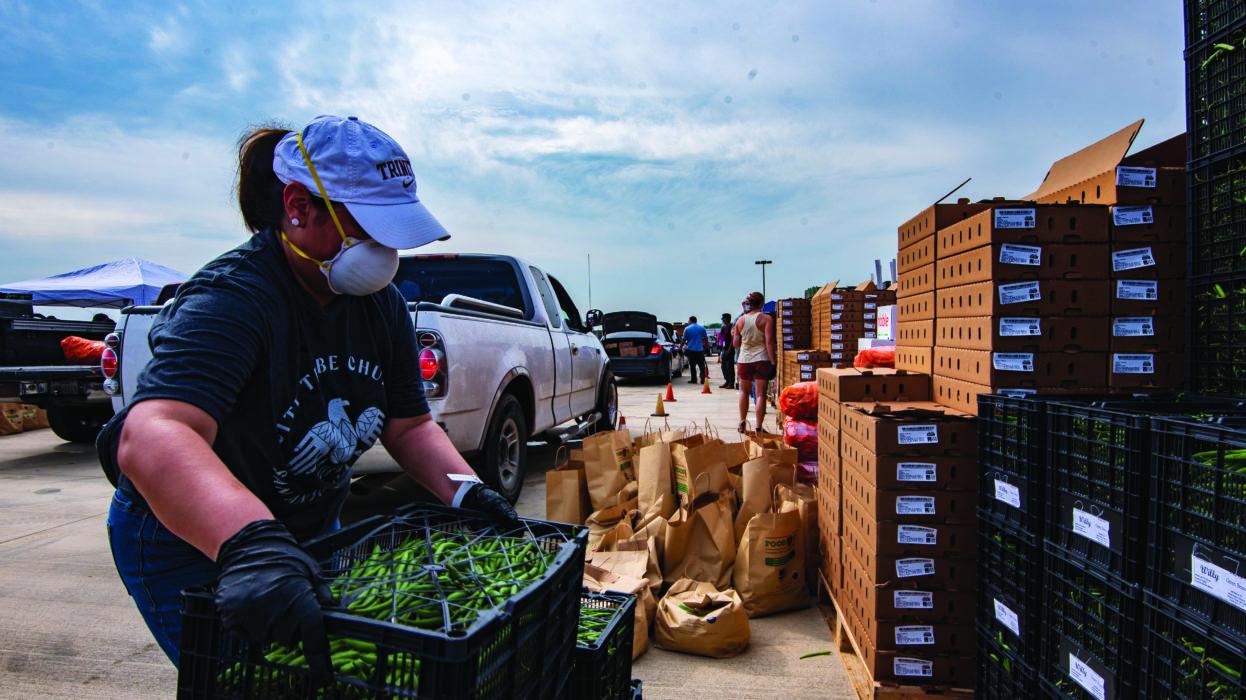 San Antonio Halloween Volunteer 2020 San Antonio Food Bank Makes Plea for Volunteers   San Antonio Magazine