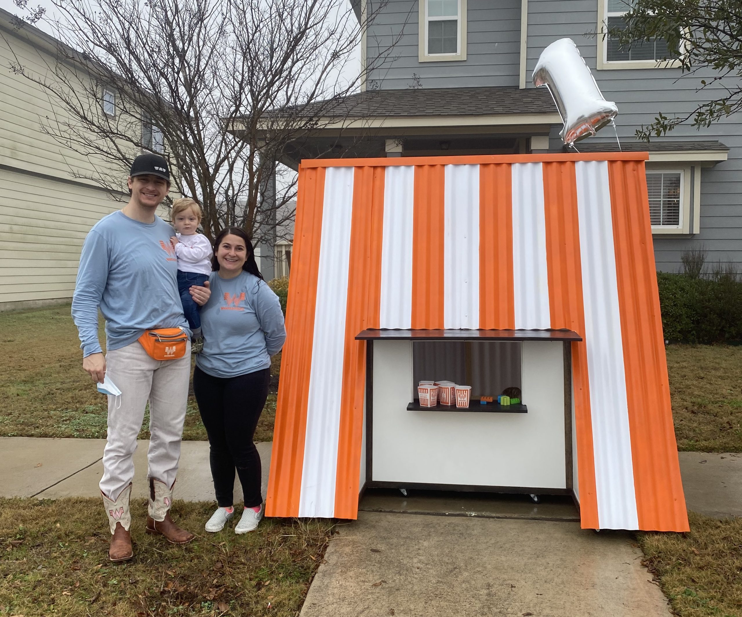 This Texas Couple Created a Whataburger Playhouse for Their Son's First Birthday - San Antonio Magazine